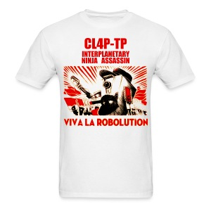 Claptrap - Viva la Robolution - Men's T-Shirt