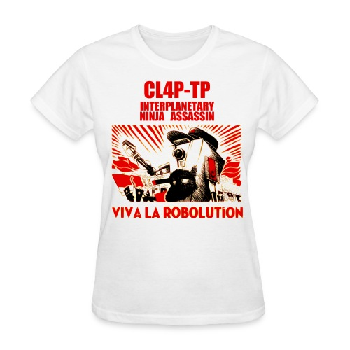 Claptrap - Viva la Robolution - Women's T-Shirt