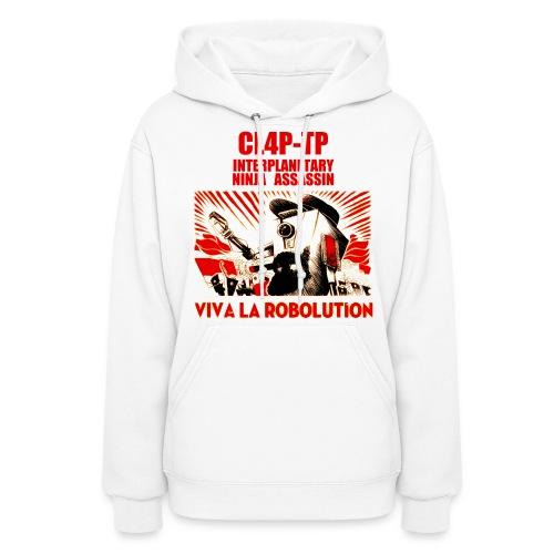 Claptrap - Viva la Robolution - Women's Hoodie