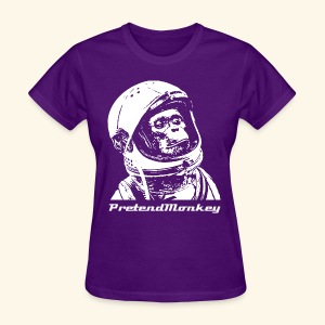 Approving Astromonkey T-Shirt (ladies) - Women's T-Shirt