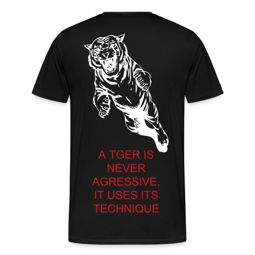 TIGER FIGHTER - Men's Premium T-Shirt