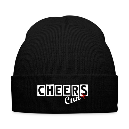 CC Beanie - Knit Cap with Cuff Print