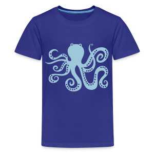 BD Octopus Kids Tshirt (US) - Kids' Premium T-Shirt