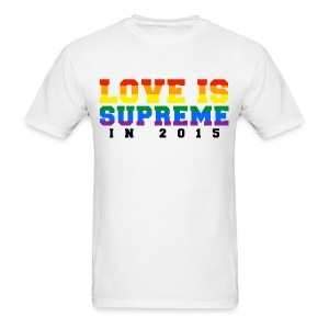 Love is supreme - Men's T-Shirt