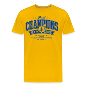 Real Champions Gold Tee - Men's Premium T-Shirt