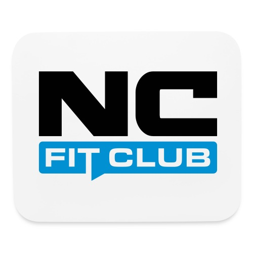 NC Fit Club (Square) - Mouse pad Horizontal