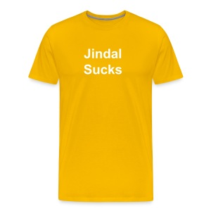 Jindal Sucks Tee - Men's Premium T-Shirt