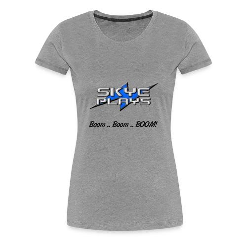 Boom Boom BOOM! (Black) - Women's Premium T-Shirt