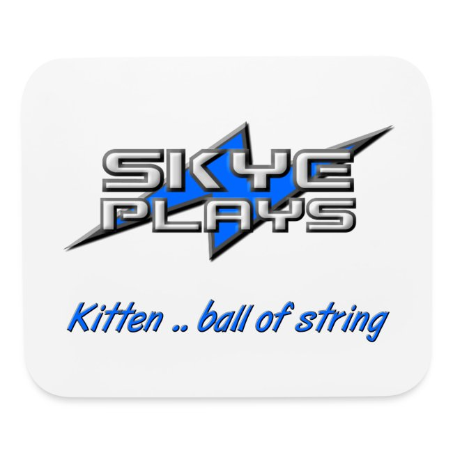 Kitten .. ball of string (Blue)