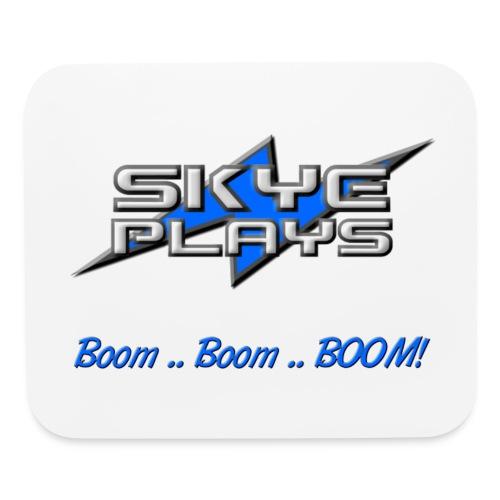 Boom Boom BOOM! (Blue) - Mouse pad Horizontal