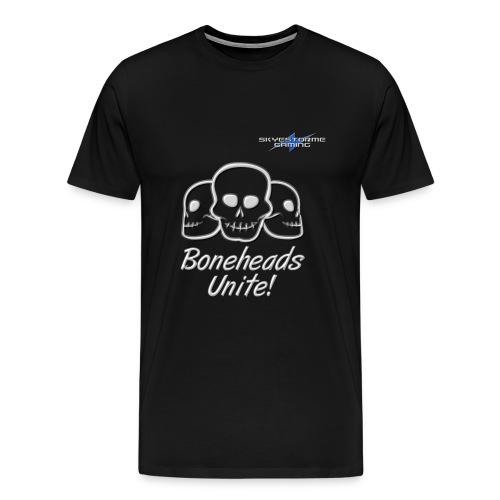 Boneheads Unite! (Steel) - Men's Premium T-Shirt