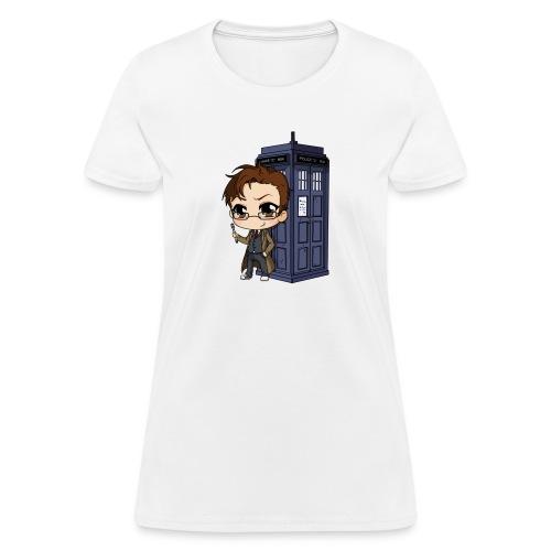 Women's Anime Dr. Who - Women's T-Shirt