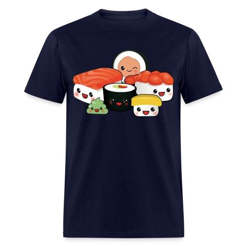 Sushi Cartoon - Men's T-Shirt