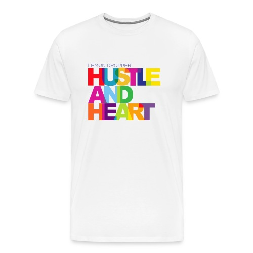 Lemon Dropper Hustle and Heart Men's Premium TShirt - Men's Premium T-Shirt