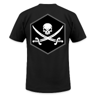 T-Shirts ~ Men's T-Shirt by American Apparel ~ Jolly Roger