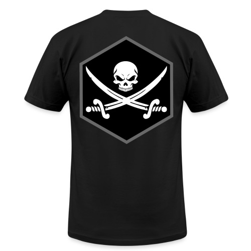 Jolly Roger - Men's T-Shirt by American Apparel