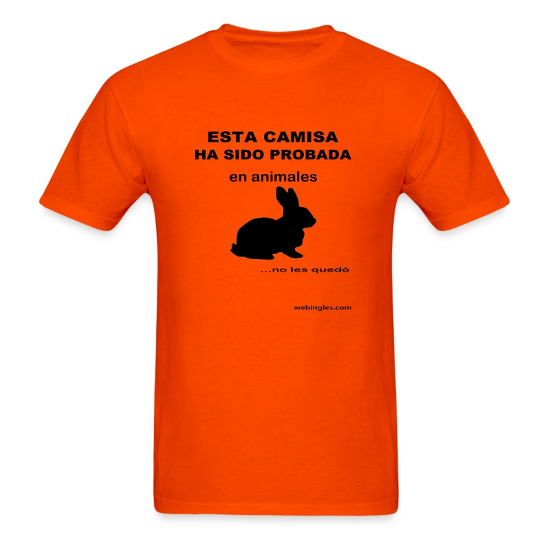 Probada en animales - Men's T-Shirt