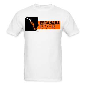 Men's T-Shirt - Escanaba,Logo,Portland,Upper Peninsula,art,artist,design,graphic design,michigan,oregon,patch,pete mclean,petemclean com,peter mclean,petermclean com,pter mclean,ptermclean com,upper michigan,web design