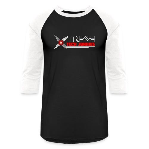 Xtreme Tech Junkies Logo | BaseBall Tee - Baseball T-Shirt