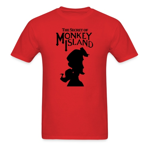 the secret monkey island - Men's T-Shirt