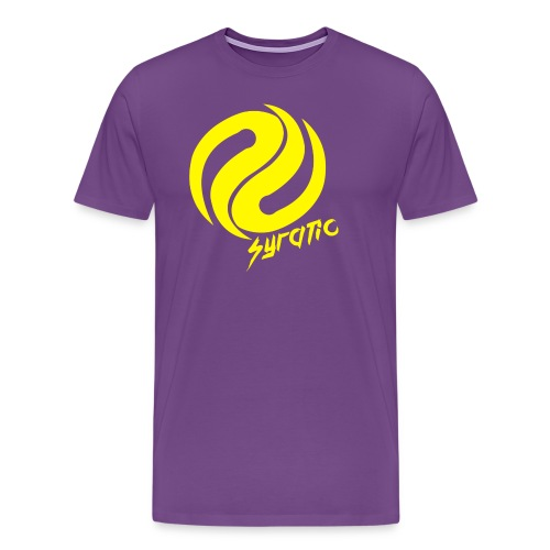 Yellow Syratic Logo - Men's Premium T-Shirt
