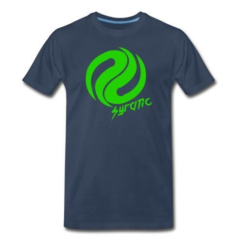 Green Syratic Logo - Men's Premium T-Shirt