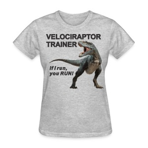 Velociraptor Trainer f - Women's T-Shirt