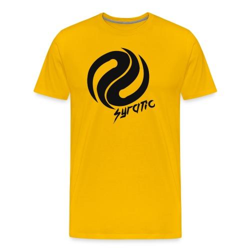 Black Syratic Logo - Men's Premium T-Shirt