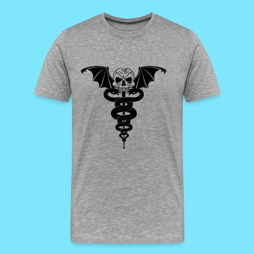 Dr. Nightscream Men's T-Shirt (Grey) - Men's Premium T-Shirt