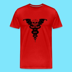 Dr. Nightscream Men's T-Shirt (Red) - Men's Premium T-Shirt