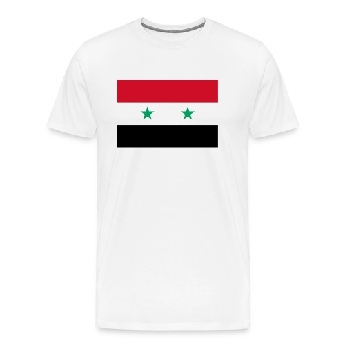 Syrian Flag Shirt - Men's Premium T-Shirt
