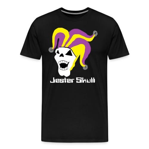 Jester Skull T-Shirt - Men's Premium T-Shirt