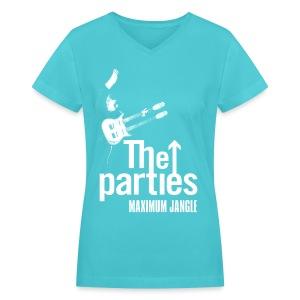 Maximum Jangle Womens V neck - Women's V-Neck T-Shirt