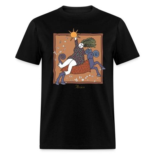 Aries Zodiac Sign - Men's T-Shirt