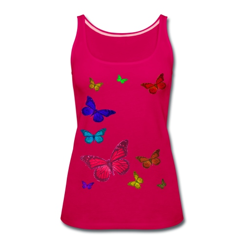 Butterflies  - Women's Premium Tank Top