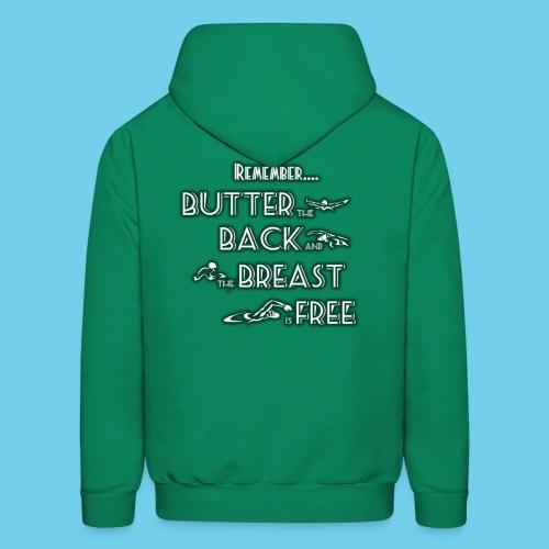 Butter, Back, Breast, Free- Men's Hoodie - Men's Hoodie