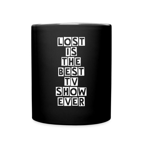 (Fyller) TV Shows - LOST: LOST is the best TV show ever [Coffee Mug] - Full Color Mug
