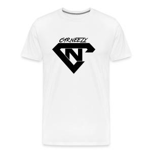 Plain Black Logo Carneezy T-Shirt - Men's Premium T-Shirt
