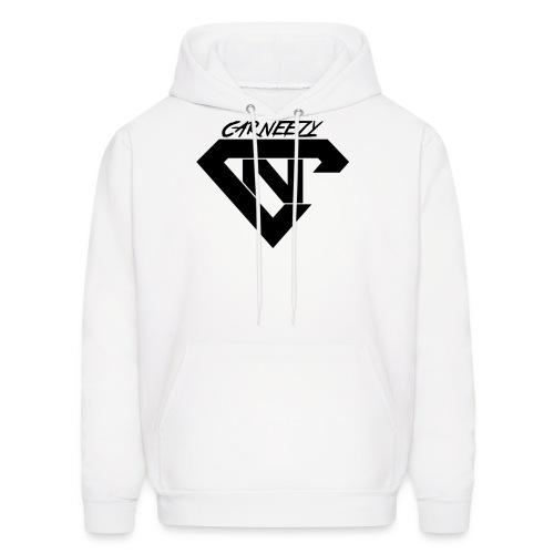 Plain Womens V-Neck Black Logo Carneezy T-Shirt - Men's Hoodie