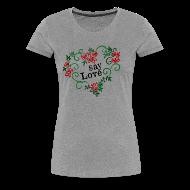 Women's T-Shirts ~ Women's Premium T-Shirt ~ say Love