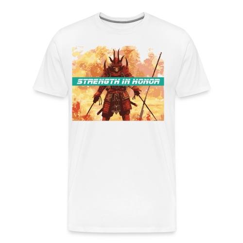 True Strength in Honor - Men's Premium T-Shirt