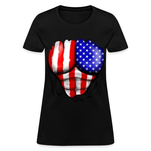 WOMEN'S T-Shirt Made in America - Women's T-Shirt