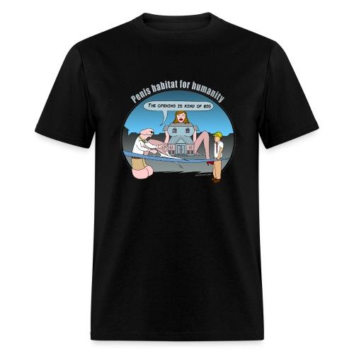 Penis Habitat 4 Humanity - Men's T-Shirt