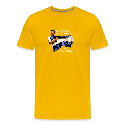 Ricardo Mayorga El Matador T-shirt (yellow) - Men's Premium T-Shirt