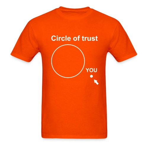 Circle of trust - Men's T-Shirt