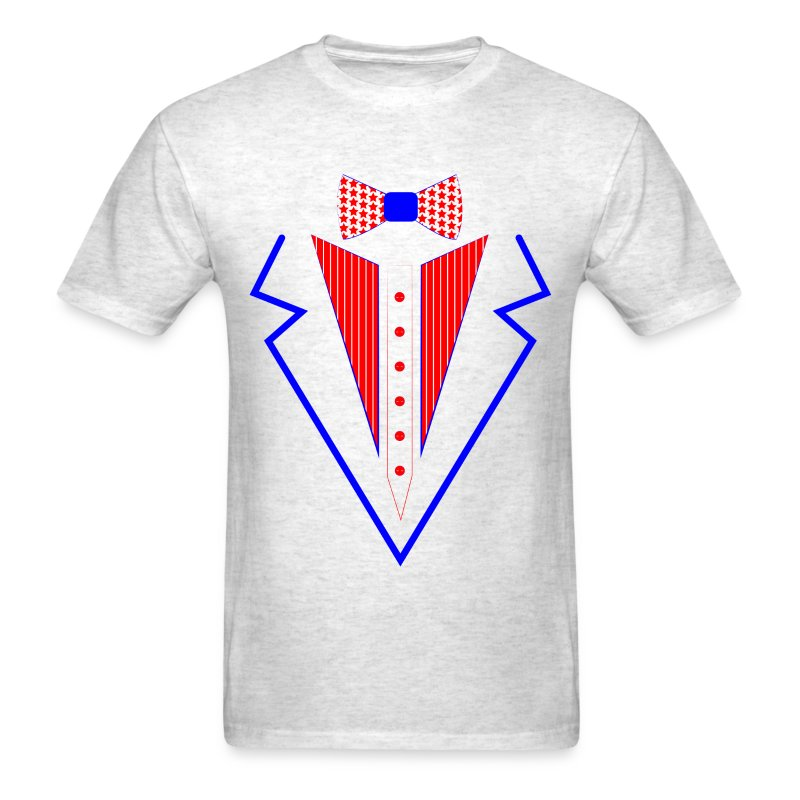 4 Th Of July Tuxedo T Shirt Spreadshirt