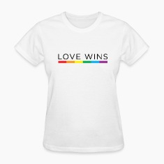Love Wins Women's T-Shirts