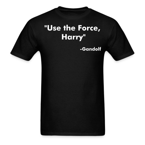 Use the force  - Men's T-Shirt