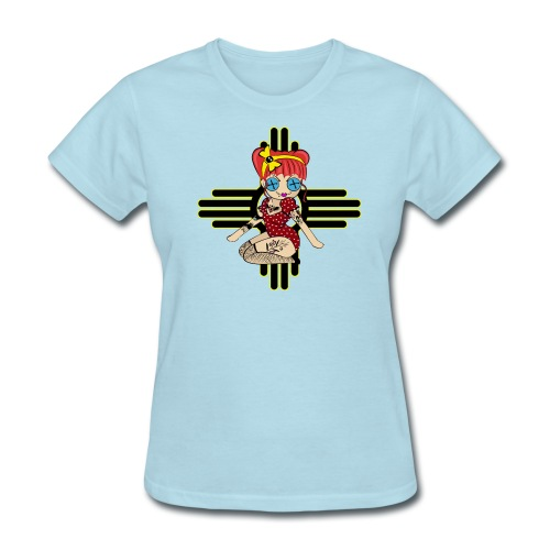 New Mexico Women's Relaxed Fit T-shirt - Women's T-Shirt