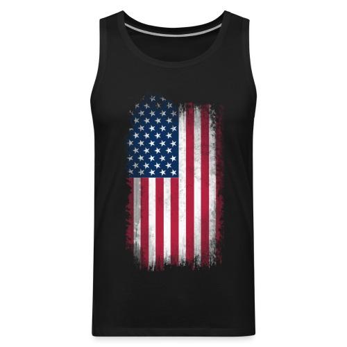MEN'S Tank American Flag - Men's Premium Tank